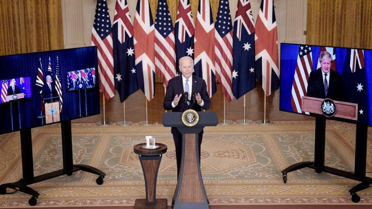 Para enfrentar a China, EEUU, Reino Unido y Australia anunciaron un histórico pacto