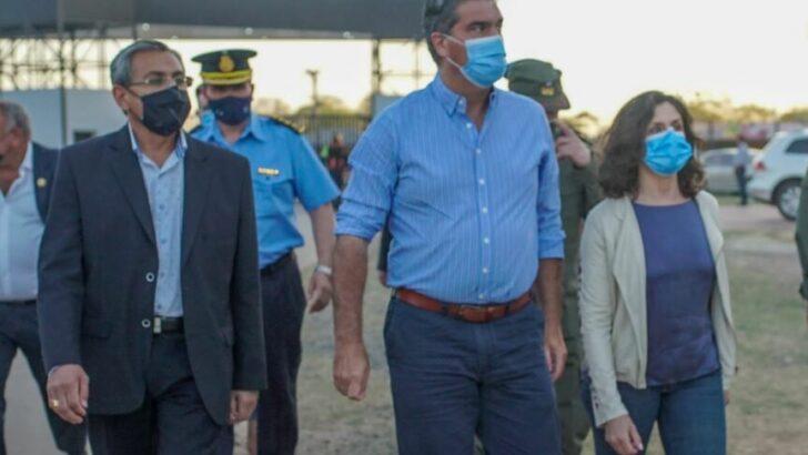 Presidencia Roque Sáenz Peña: Capitanich lanzó megaoperativo de seguridad