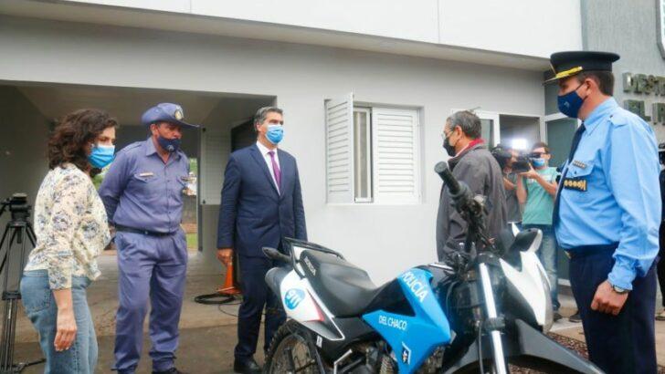 Quitilipi: inauguraron el destacamento policial del paraje El Paraisal
