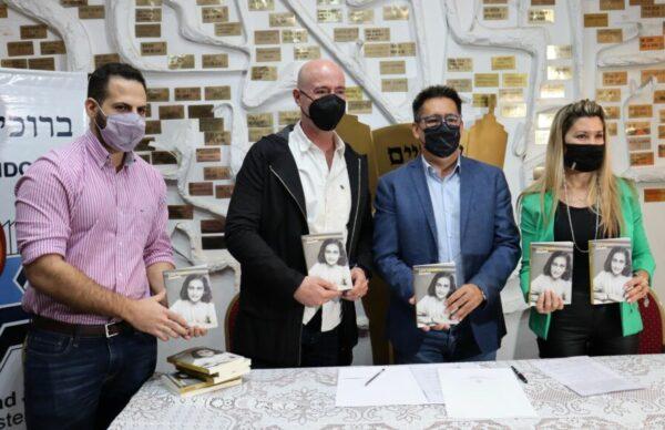 Resistencia: lanzaron la muestra sobre Ana Frank, que se expondrá desde el próximo lunes con acceso libre y gratuito 1