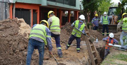 Resistencia: Sameep avanza con la ampliación del sistema cloacal en el barrio Roger Balet