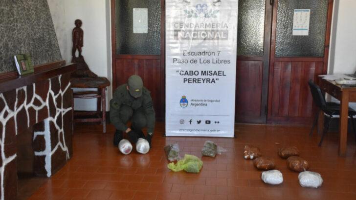 Secuestran narcoencomiendas en Corrientes con más de 7 kilos de marihuana