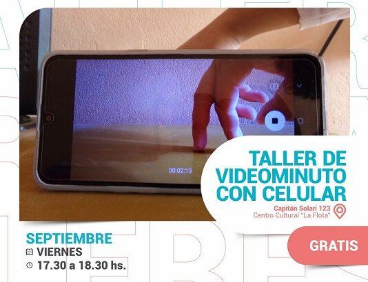 "Taller de videominuto en ""La Flota"""