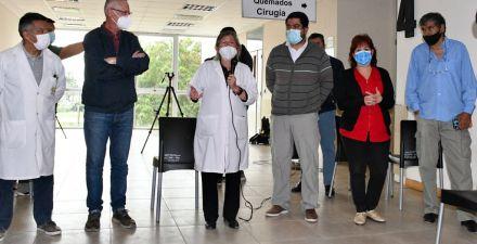 Ya están en funciones las nuevas autoridades del Hospital Pediátrico Avelino Castelán