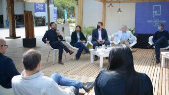 """Agustín Romero afirmó que """"fue un orgullo para nosotros recibir a la Feria Iberoamericana del Libro en el Domo del Centenario"""""""