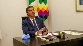 Capitanich anunció más pavimento para Resistencia, Fontana y Barranqueras