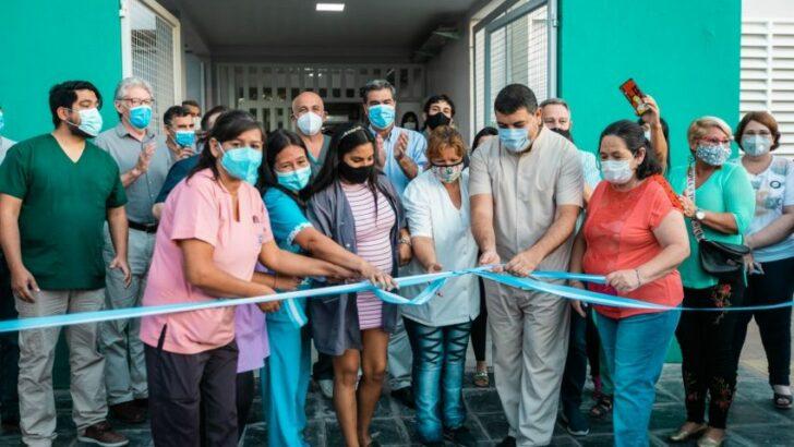 Capitanich habilitó obras de ampliación y refacción del Centro de Salud de Villa Libertad
