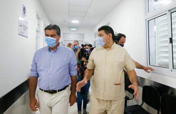 Capitanich habilitó obras de ampliación y refacción del Centro de Salud de Villa Libertad 3