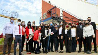 Capitanich inauguró el nuevo Salón de Usos Múltiples de la UEGP Nº 218 «Sarmiento»