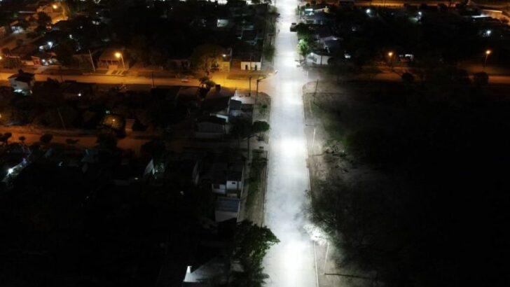 Capitanich inauguró nuevas cuadras de pavimento en Las Breñas