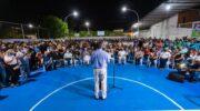 Club Social Cultural y Deportivo Villa Libertad: inauguración de obras de refacción a pura emoción