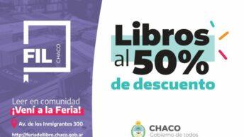 Continúa la Feria Iberoamericana del Libro, con descuentos del 50% para la compra de ejemplares