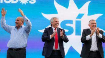 Desde Tucumán, Alberto llamó a la unidad y criticó a la oposición