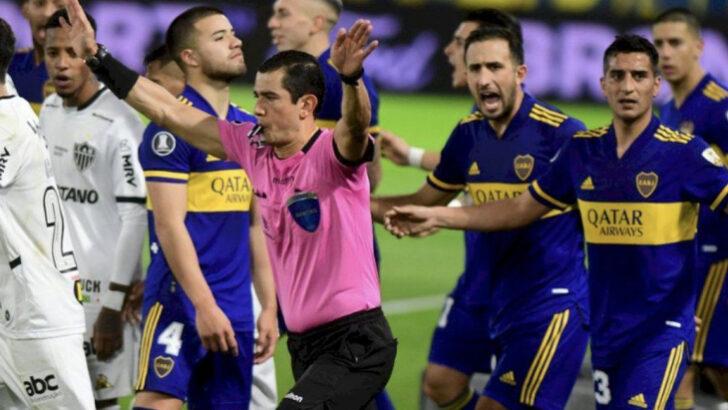 Dura sanción a jugadores de Boca por los incidentes en Brasil