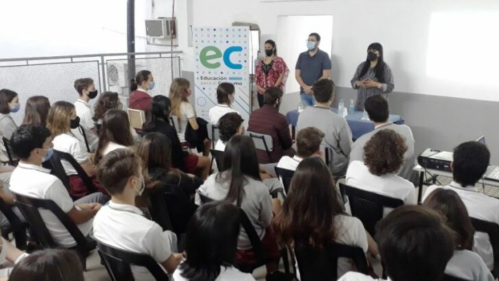 Educación para el Consumo inició ciclo de charlas en escuelas