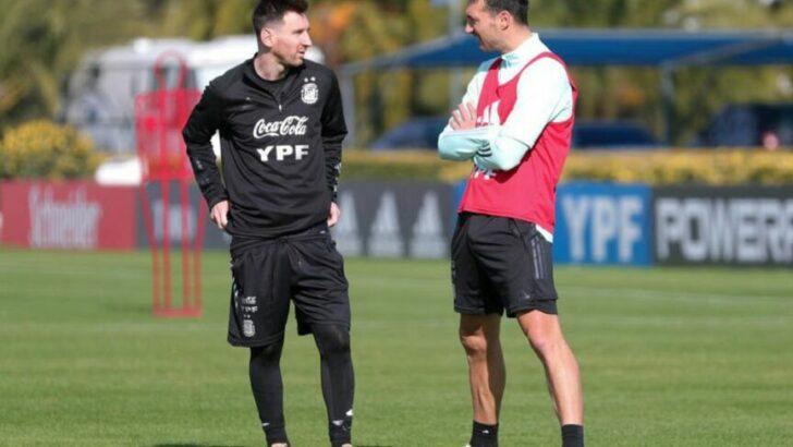 Eliminatorias Sudamericanas: Argentina se entrenó pensando en Paraguay