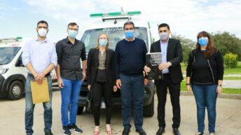 Fortaleciendo la salud pública del interior: Capitanich entregó 12 ambulanciasde alta complejidad