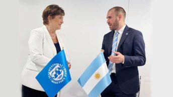 Guzmán viaja a Washington para participar de la Asamblea del FMI y el Banco Mundial