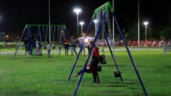 Inauguraron el Parque Centenario de Presidencia de la Plaza