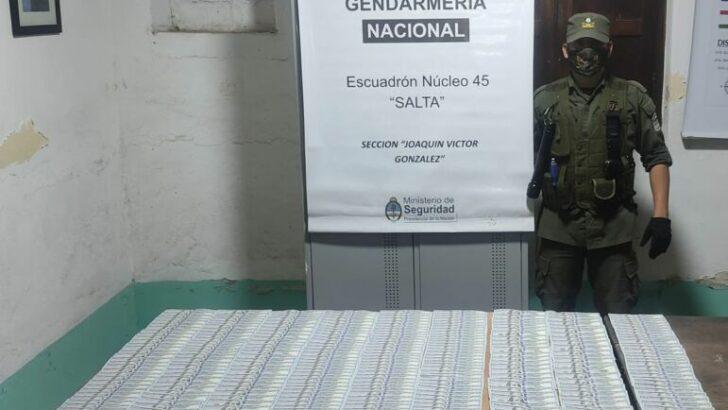 Lavado de activo en Salta, Gendarmería secuestró 30 mil dólares