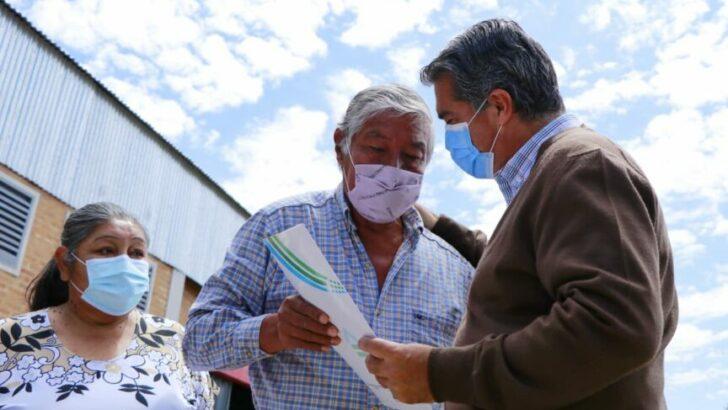 Machagai: Capitanich entregó 344 títulos, inauguró obras y anunció la construcción de 40 nuevas cuadras de pavimento