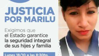 Mumala marchará este lunes pidiendo justicia por el femicidio de Marilú Robledo