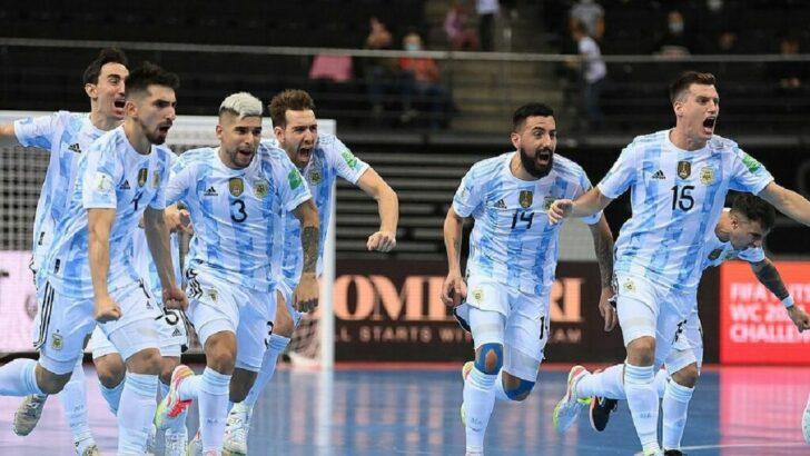 Mundial de futsal: Argentina buscará el bicampeonato ante Portugal