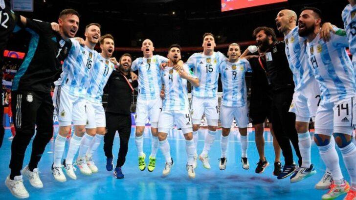 Mundial de Futsal: Argentina va por el bicampeonato ante Portugal