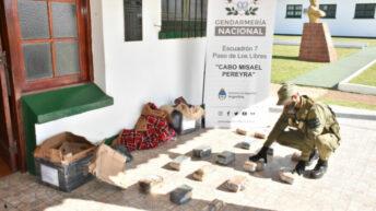 Narcoencomiendas en Corrientes: Gendarmería decomisó más de 24 kilos de marihuana