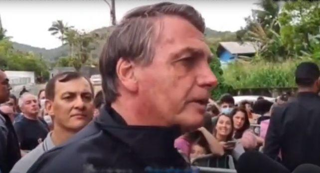Por no cumplir las medidas de seguridad sanitaria Bolsonaro no pudo presenciar el partido Santos-Gremio