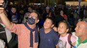 Resistencia: Gustavo Martínez acompañó el Festival para Todos, un evento solidario para recaudar mercadería para merenderos