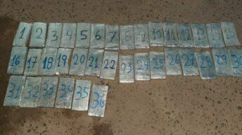 Salta: Gendarmería incautó mas de 19 kilos de cocaína de un taxi