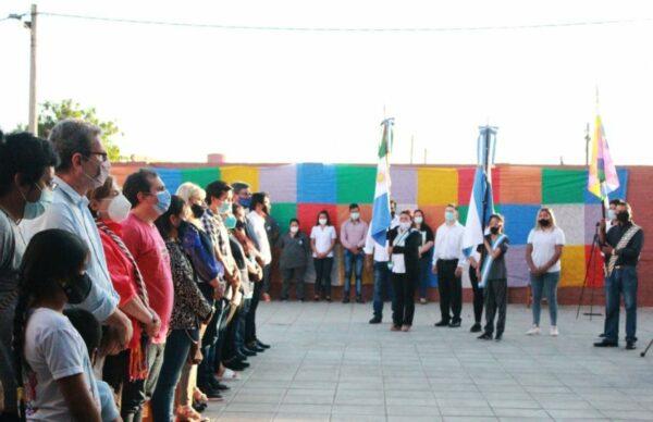 Se conmemoró el Último Día de Libertad de los Pueblos Originarios en la Escuela Pública de Gestión Comunitaria Indígena 1
