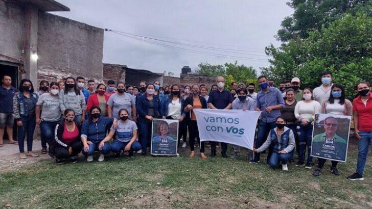 """""""Vamos Con Vos"""" inauguró local en Presidencia de La Plaza y realizó un acto en Sáenz Peña"""