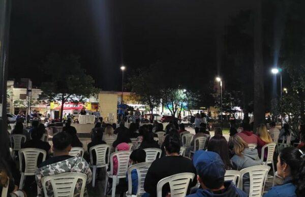 """""""Vamos Con Vos"""" inauguró local en Presidencia de La Plaza y realizó un acto en Sáenz Peña 2"""