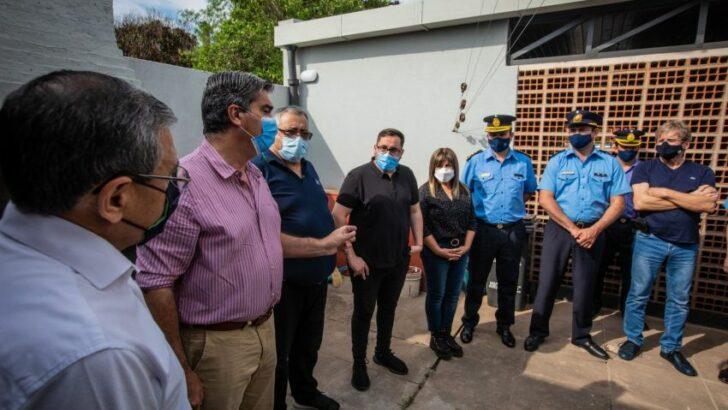 Vedia: Capitanich inauguró la refacción de la comisaría y anunció más obras para la comunidad